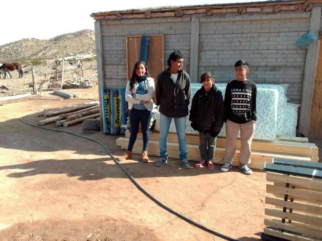 2020-07-09 DESARROLLO HUMANO: Asistencia en Las Chacras, Caucete