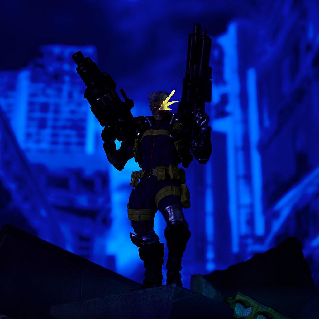 槍就是要拿這麼大把才爽! 海洋堂 Amazing Yamaguchi 系列 Marvel【機堡】Cable 上色官圖公開