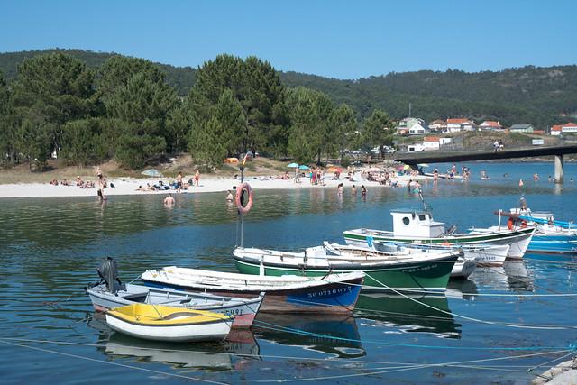 Playa en Esteiro (Ría de Muros Noia, Galicia)
