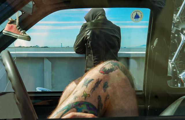 Leg Tats, BC Ferry