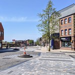 The embarrassing cones in the centre of Fishergate have now been replaced
