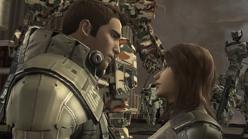 Front Mission Evolved - Heterosexual Romance