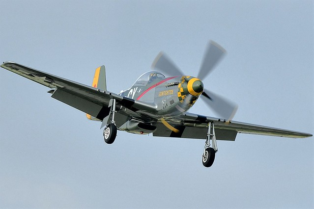 North American P-51D Mustang Gunfighter N5428V 1945 USAAF 1947USAF Serial 44-73264 Construction 122-39723