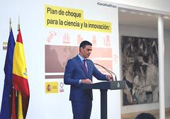 El presidente Sanchez presenta el Plan
