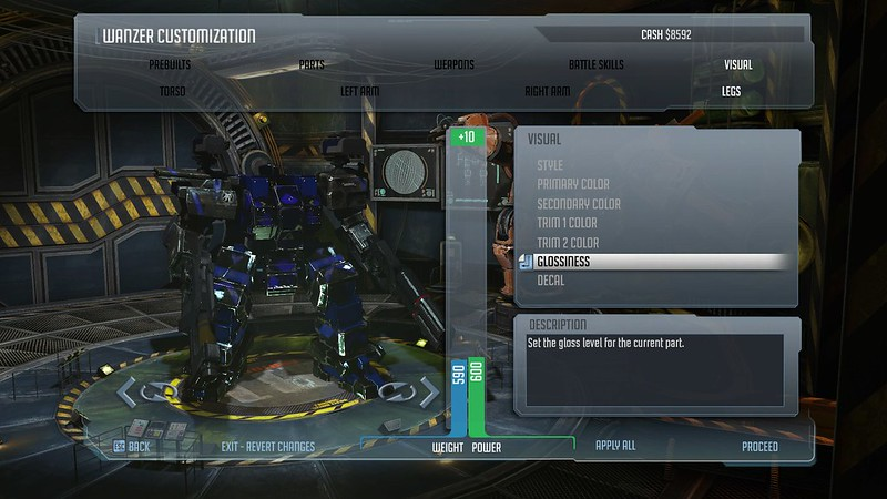 Front Mission Evolved - Customization