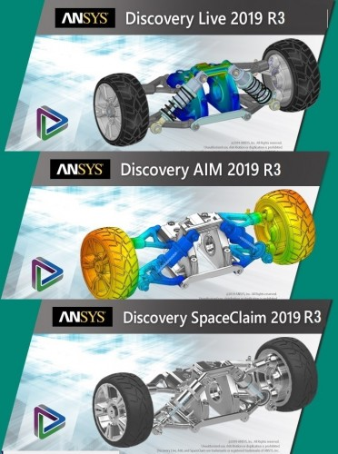 ANSYS Discovery Live Ultimate 2019 R3 v19.5 x64 full