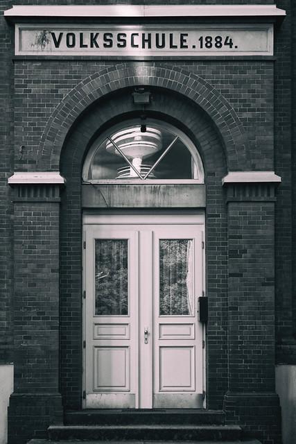 Volksschule  von 1884