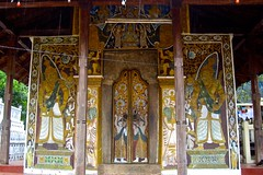 Mural painting of Natha Devale temple in Kandy