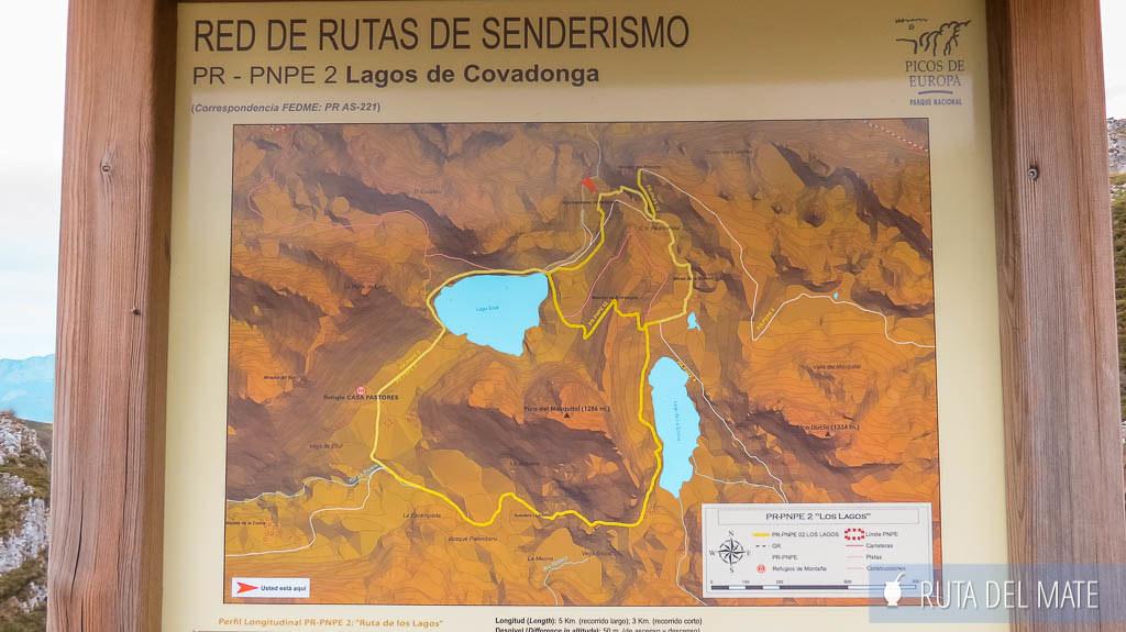 Ruta de Senderismo por los lagos de Covadonga