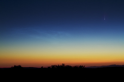 Comet C/2020 F3 (NEOWISE) And Noctilucent Clouds