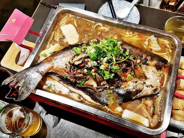 Shi Li Jun Xiang Shui Guo Yu / 十里菌香水果鱼