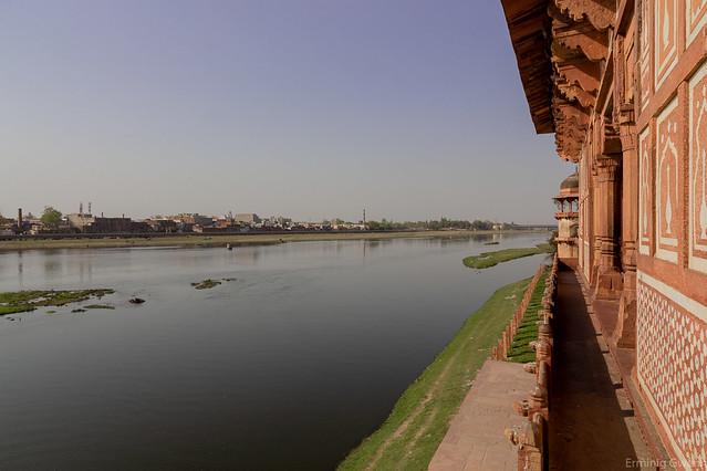 La Yamuna à Agra - Inde