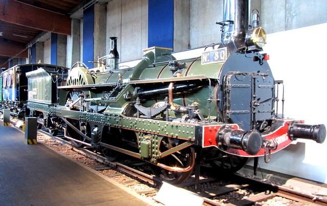 """Early """"Crampton Patent""""  loco of CFD Est"""