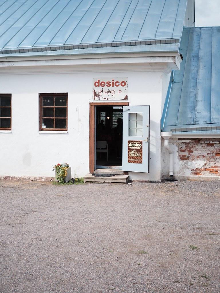 Desico tehtaanmyymälä Fiskars