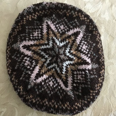 Sandi (sandima) knit this stunning  Katie's Kep by Wilma Malcolmson using Jamieson & Smith 2 Ply Jumper Weight she found in her stash!