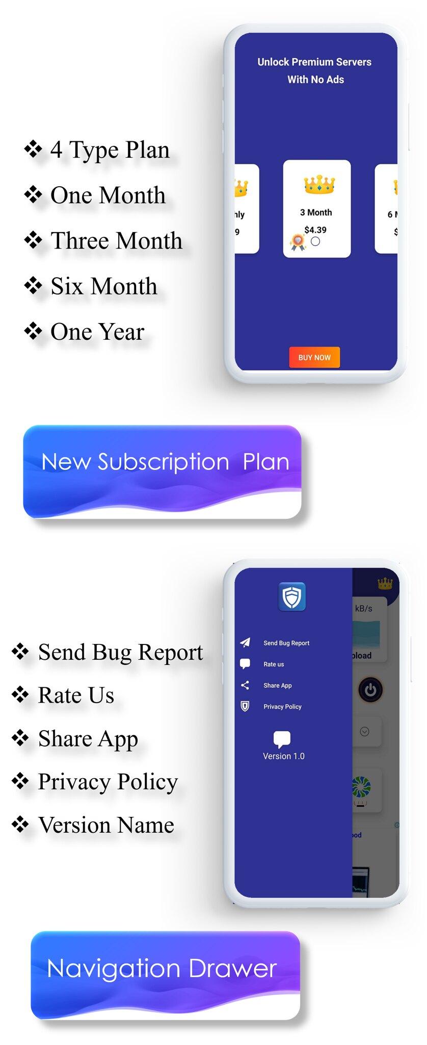 TOTO - VPN | VPN App | Facebook Ads | Admob Ads | Ads Manage Remotely | VPN | VPN Subscription Plan - 7
