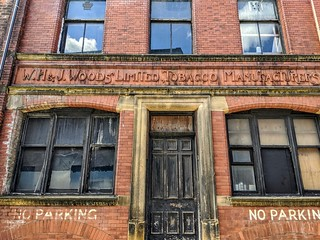 Relic from Wood's Tobacco factory in Preston | by Tony Worrall