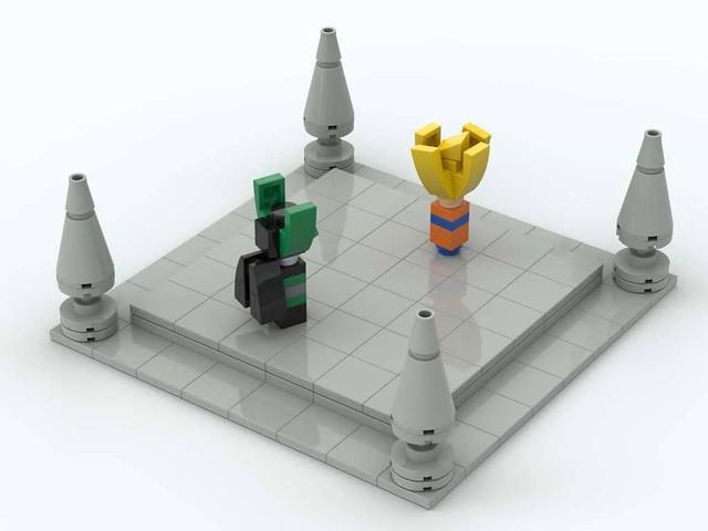 Lego Dragon Ball Z - The Cell Games