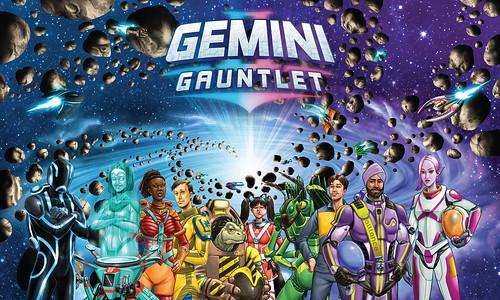 Gemini Gauntlet Cover Art