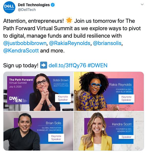 Dell Women's Entrepreneur Network Event