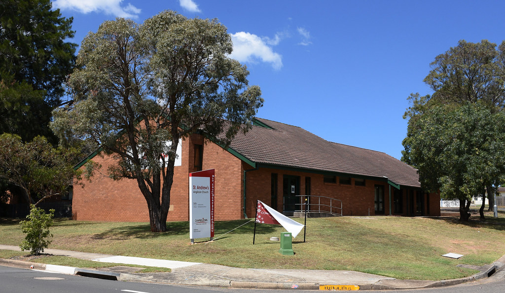 St Andrew's Anglican Church, Airds, Sydney, NSW.
