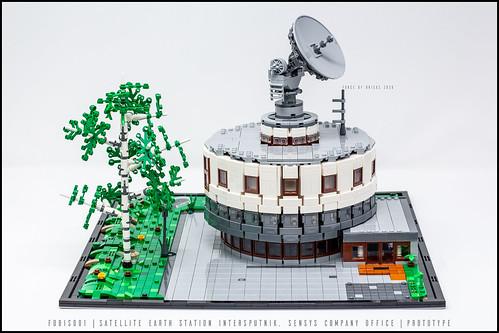03_Force of Bricks | Satellite Earth Station Intersputnik | Sensys Headquarters (Fobis001)