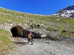 Výjezd z tunelu na Gletscherstube