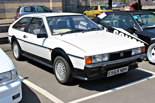 volkswagen german germany 1980s scirocco herbertschafer coventry2016 e569ngv