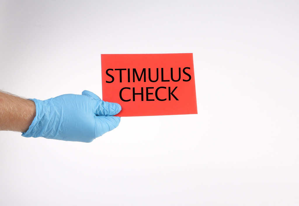 Stimulus Check During Coronavirus Pandemic - Thank you in ad… - Flickr