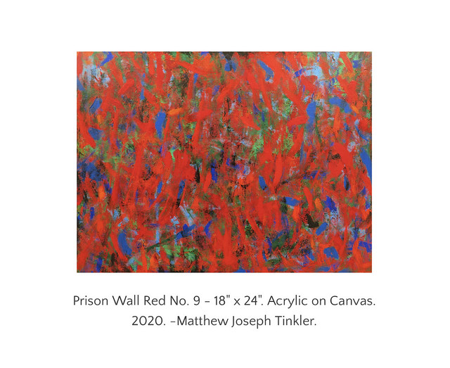 Prison Wall Red No. 9 - 18