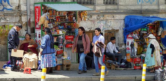 Street Life in La Paz (EXPLORED)