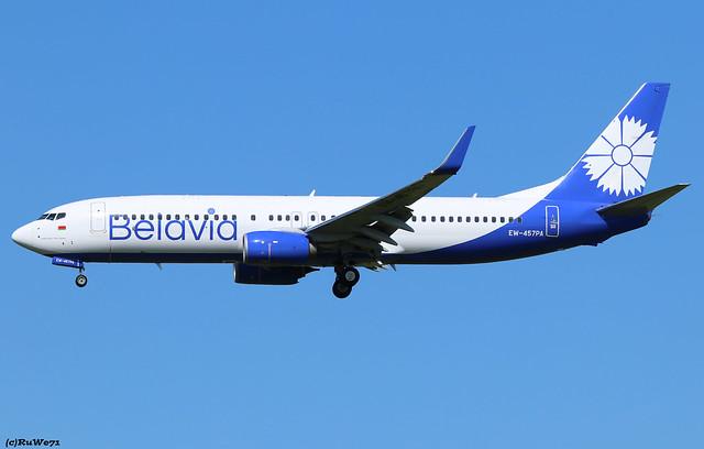 Belavia Boeing 737-8ZM(WL) EW-457PA