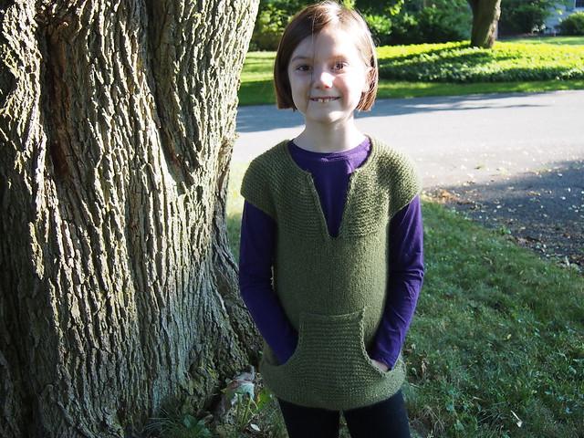 Sparkly Green Vest!