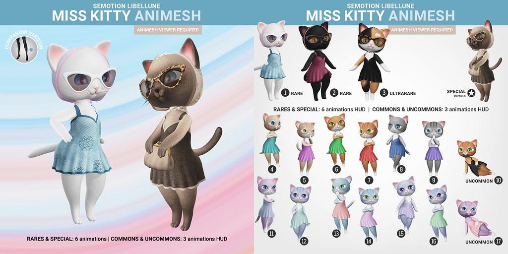 SEmotion Libellune Miss Kitty Animesh