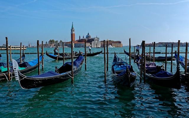 Venezia /  San Giorgio Maggiore / From Gondola Service Station San Marco