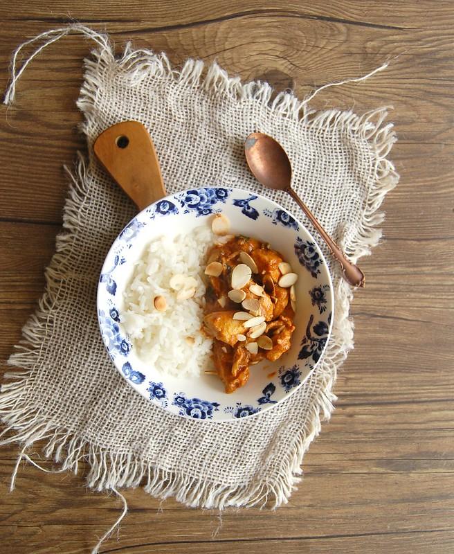 Frango ensopado à moda indiana / Butter chicken