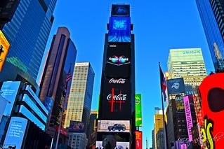 Times Square Duffy Square Skyscrapers Manhattan New York City NY P00584 DSC_0998