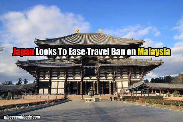 japan travel ban malaysia