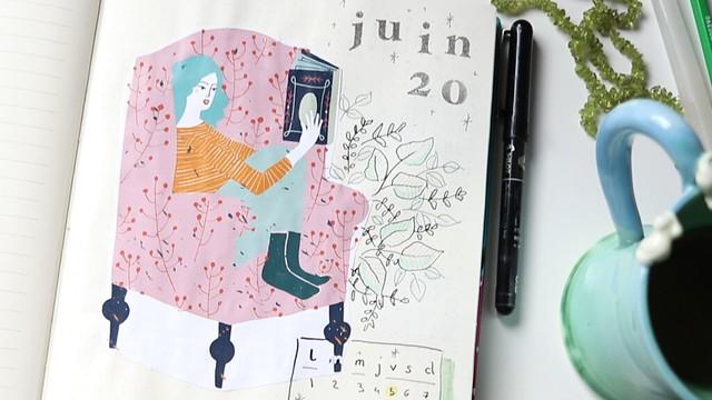 Bullet Journal Juin 2020