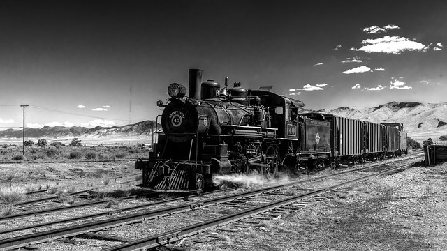 02469376423120173-126-20-07-Steam Engine in Ely Nevada-6-Black and White
