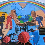 New mural to NHS and essential workers