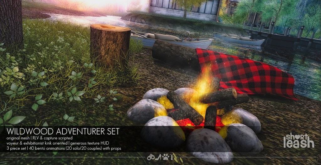 .:Short Leash:. Wildwood Adventurer Set
