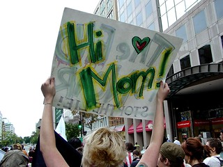 September 24, 2005 anti-war protest [06] | by SchuminWeb
