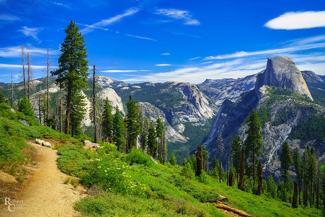Yosemite Along the Panorama Trail