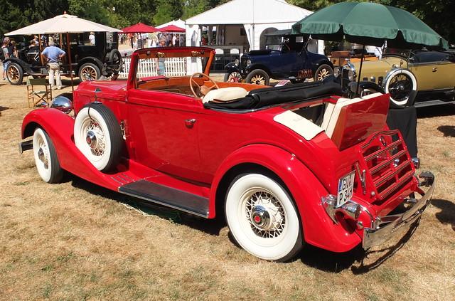 Packard Eight 1100 Convertible 1934
