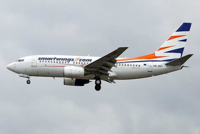 OK-SWT  -  Boeing 737-7Q8  -  Smartwings (ops for CSA)  -  LHR/EGLL 10/7/20