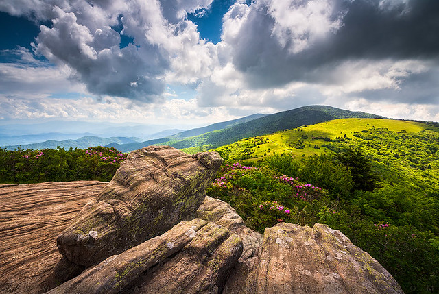 North Carolina Mountains Appalachian Trail Scenic Landscape Photography