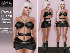 HYPNOSE - PRYA BLACK OUTFIT