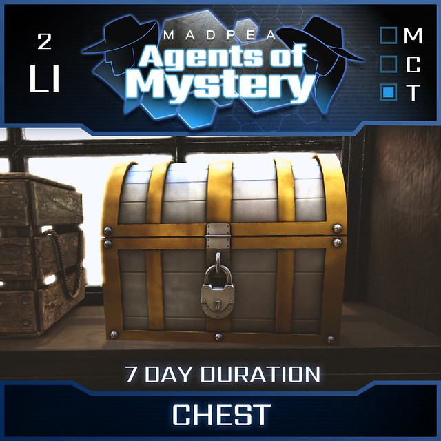 Agents of Mystery Intelligence - Chest