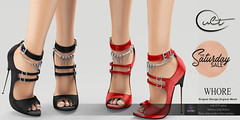 : CULT : WHORE HEELS with HUD